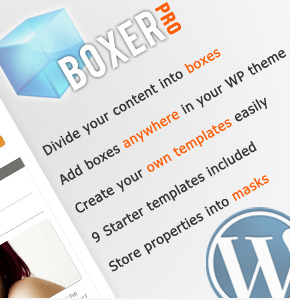 WP Boxer Pro плагин для создания боксов в контенте Wordpress