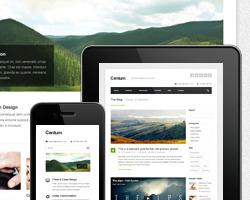 Centum  Responsive Themeforest много цветов в бизнес шаблоне с портфолио Wordpress