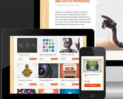 Kinetico Responsive Themeforest тема интернет магазина на WordPress