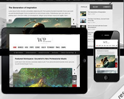 Next Responsive Themeforest новостной шаблон Wordpress