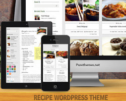 CookingPress - Recipe & Food Themeforest шаблон кулинарных рецептов Wordpress