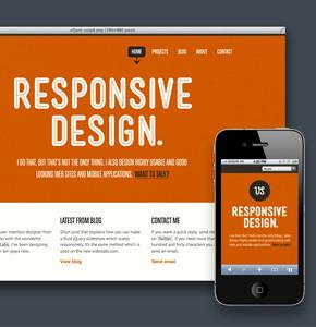 CSS: Адаптивные структуры столбцов или Responsive design