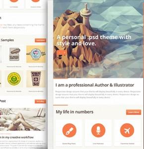 7 русских шаблонов WordPress, тематика блог, бизнес, новостной сайт, универсальный и современный