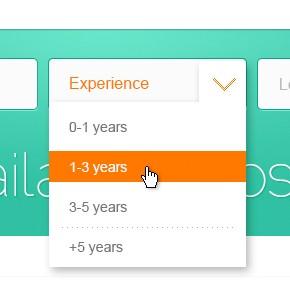 HTML, CSS: Делаем стильный тег Select Box с помощью CSS