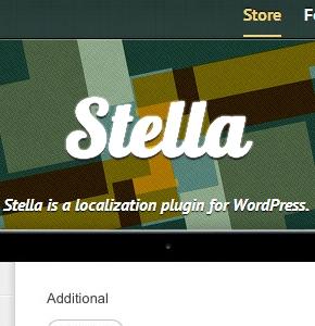 Stella плагин Wordpress, для создания нескольких языков на сайте
