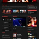 Подробнее WordPress шаблон музыка Soundrock Themeforest