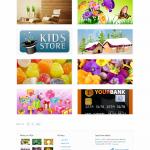 Обзор бизнес шаблона Capstan Themeforest