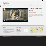 Обзор шаблона Agility Themeforest WordPress