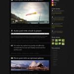 Внешний вид шаблона Website - responsive WordPress theme