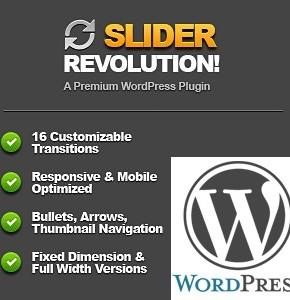 Slider Revolution Сodecanyon - функциональный плагин WordPress