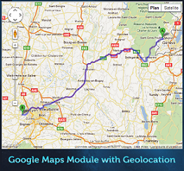 Google Maps Module with Geolocation Codecanyon - плагин маршрутизации