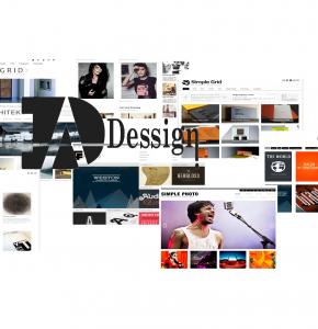 Красивые и простые темы WordPress от Dessign