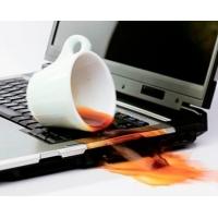 Можно ли спасти ноутбук, залитый жидкостью?
